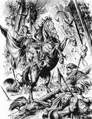Dragonero Illustrazions for Etnacomics