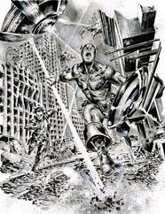 Cap & Nick Fury
