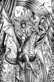 Amazon with Dragon