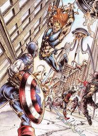 Killraven, Deathlok & Cap America