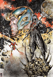 Thanos, Terrax & Ronan the Accuser
