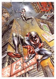 Spiderman Verse & Spider Gwen