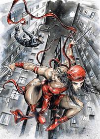 Elektra & Devil in Hell's Kitchen