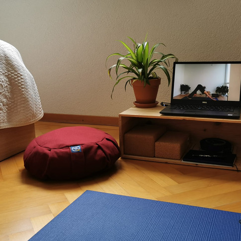 Zoom Yoga from your home