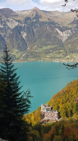 Turquoise Lake Brienz