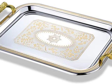 A Flying Wallenda with a fancy platter