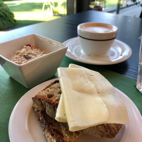 Breakfast at Monte Veritá