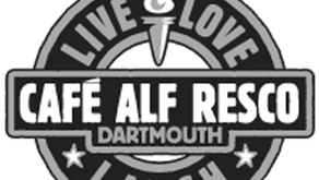 Thank you Cafe Alf Resco in Dartmouth