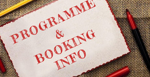 Programme and booking
