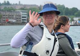 Volunteer at Dart Sailability onboard the ARK