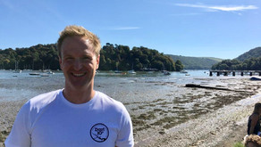 Matt swims Dart 10k to raise funds for Dart Sailability