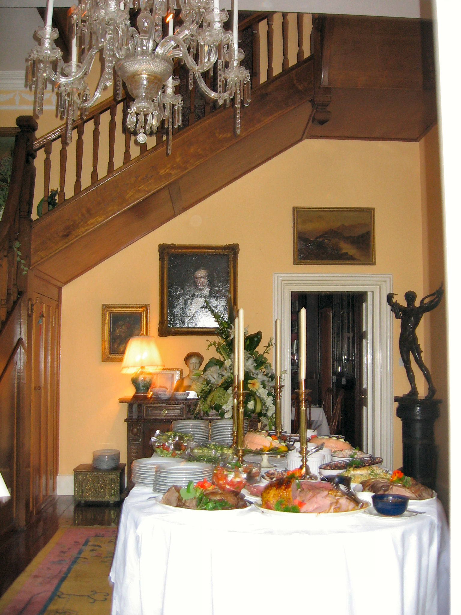 The Castle's Front Foyer