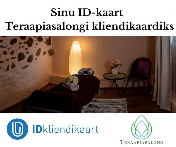 Sinu ID-kaart Tartu Teraapiasalongi klie