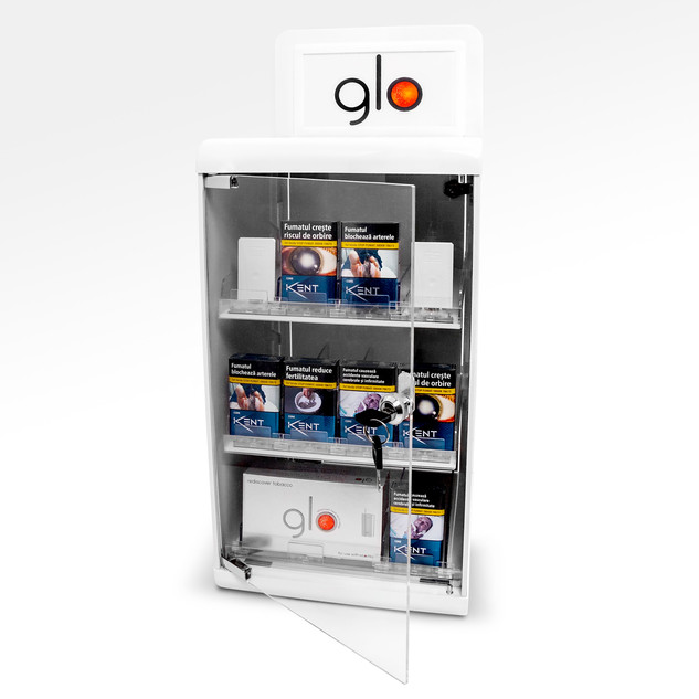glo - Counter dispenser