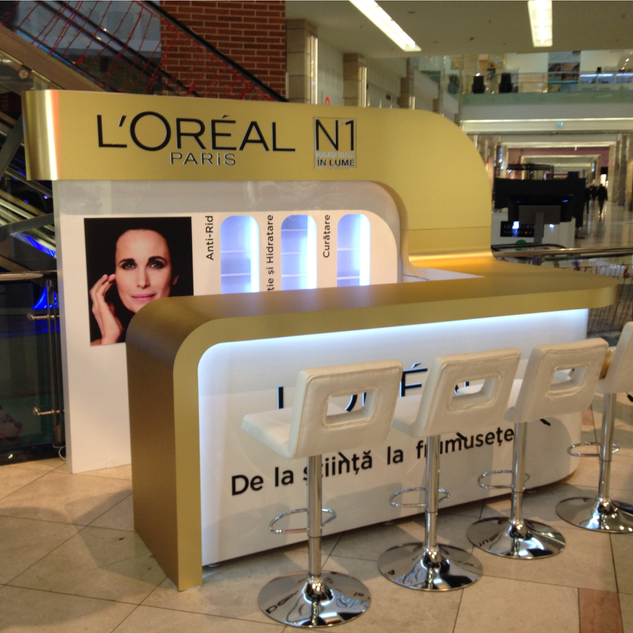 L'Oreal - Shop in shop