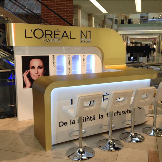 L'Oreal - Shop in shop