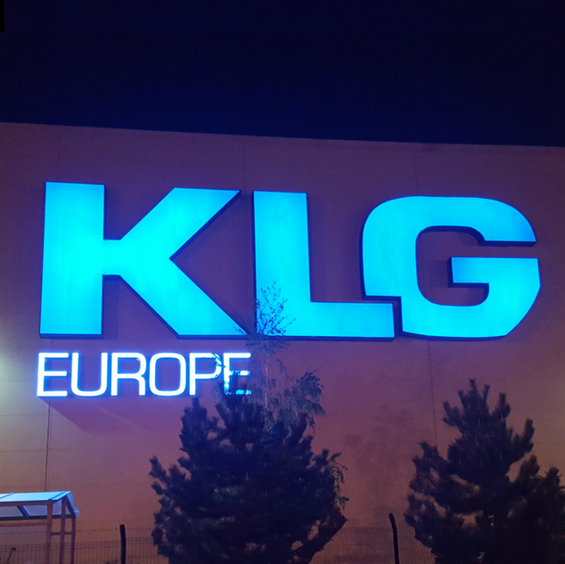 KLG - Volumetric letters