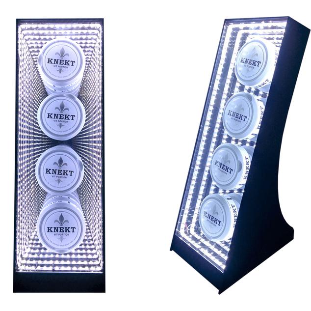 Knekt - Infinity mirror display