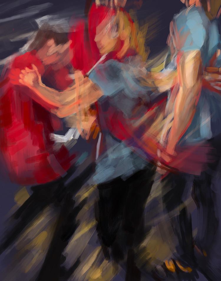 Step Dance, Weekday Night