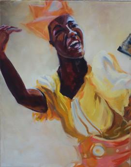Oshun Smiling