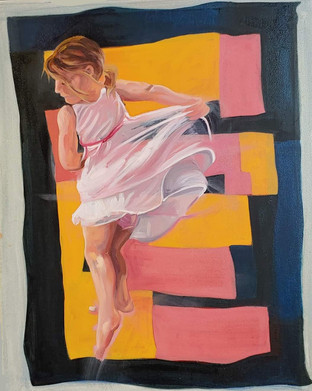Dancing With Gees Bend, Pink