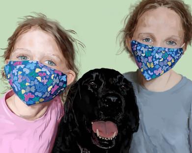 Incognito Three Girls
