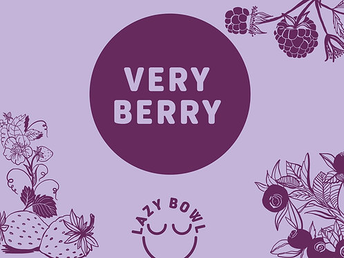 Lazy Bowl Very Berry