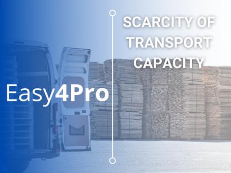 Scarcity of Transport Capacity