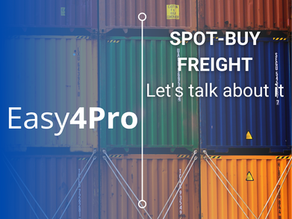 SPOT-BUY FREIGHT: Let's talk about it