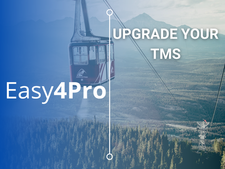 Upgrade your TMS