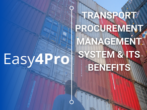 What is a transport procurement management software and its benefits?