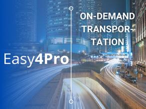 On-Demand Transportation.          Let's tackle the challenge together!