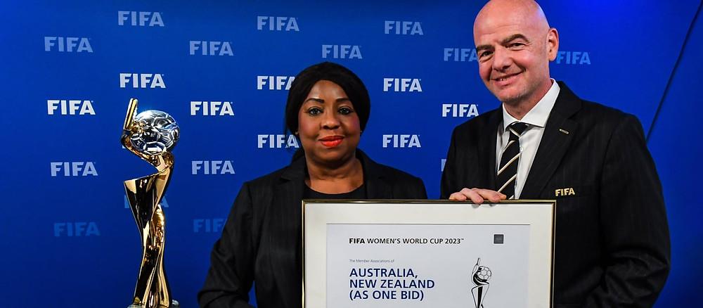 A Copa do Mundo Feminina será na Austrália e na Nova Zelândia e contará com 32 seleções