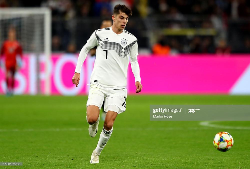 Estreia de Havertz pela Alemanha em amistoso contra a Argentina