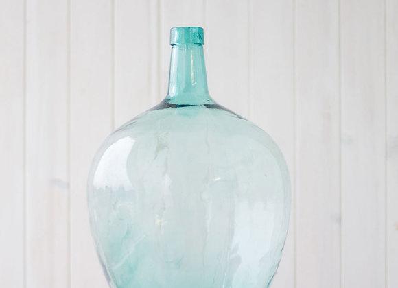 Damajuna cristal azulado. años 40
