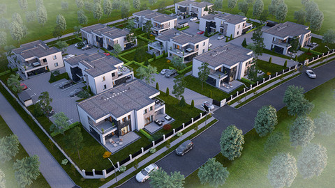 Törökbálint, II. ütem 36 lakásos lakópark