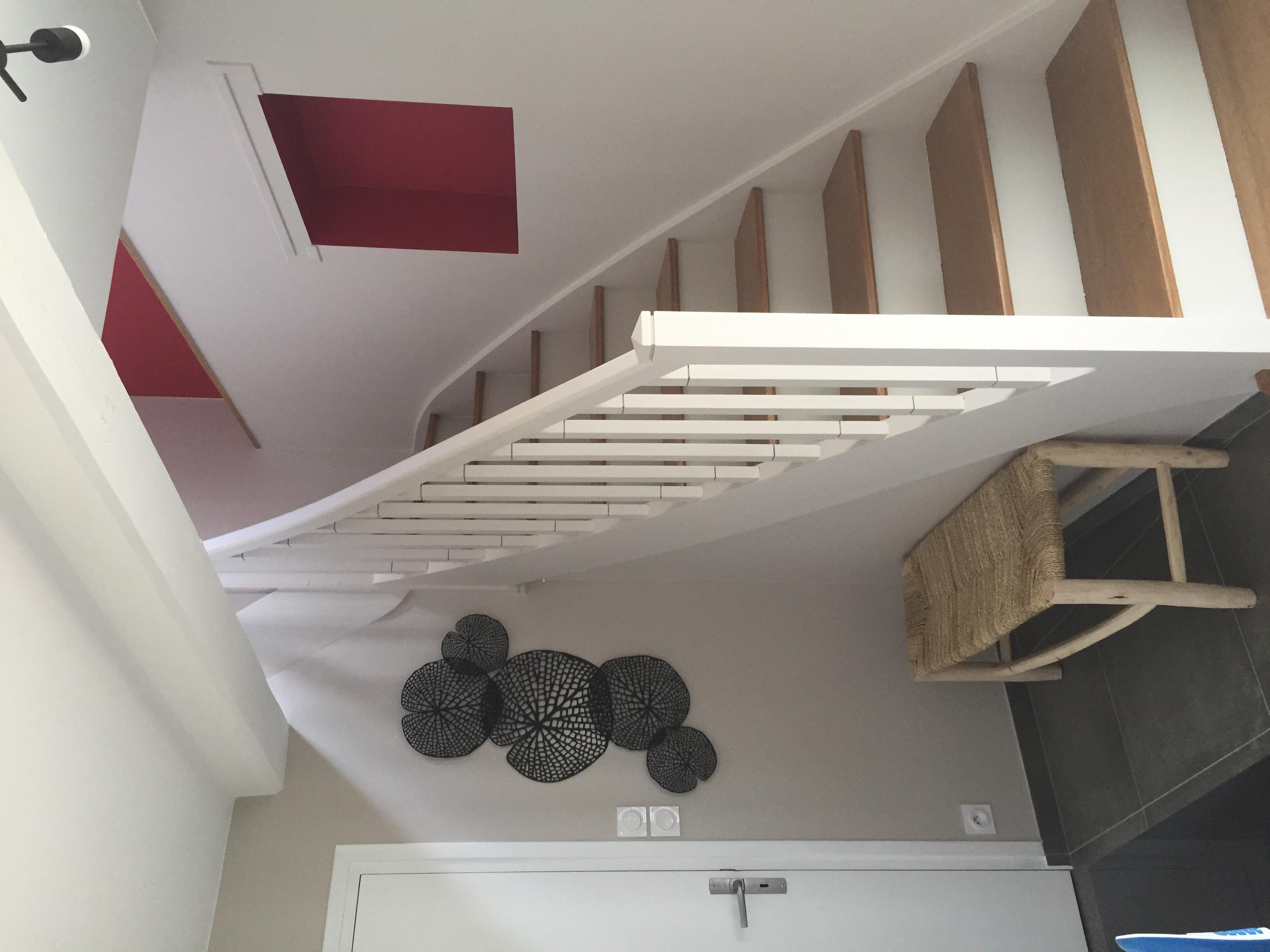 Escalier et entrée métamorphosés