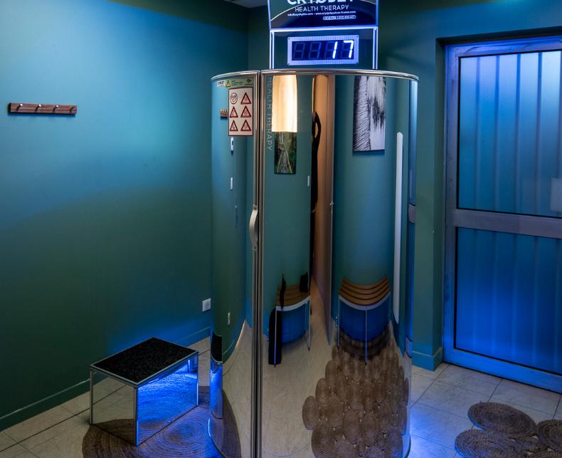 Salle de cryothérapie