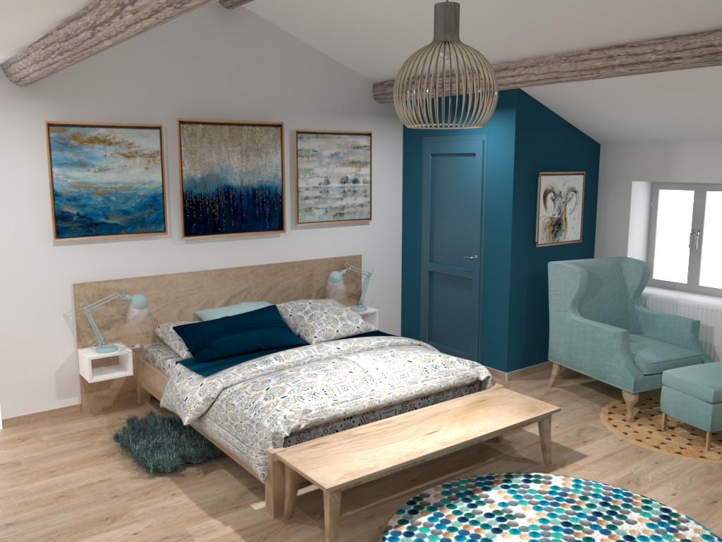 Projet 3D chambre