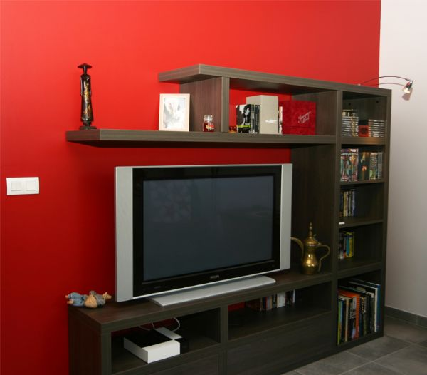 Création d'un meuble TV