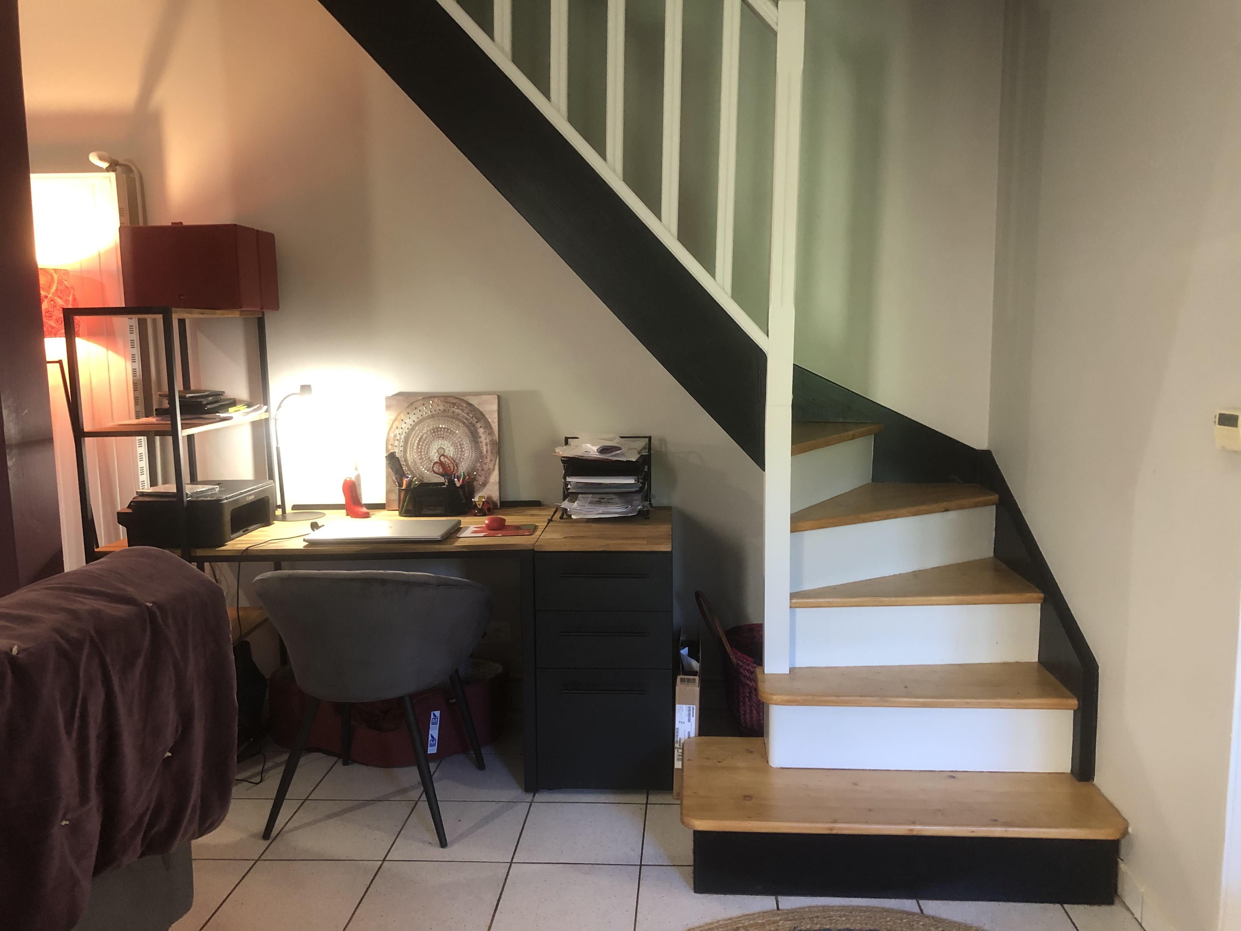 Un escalier modernisé