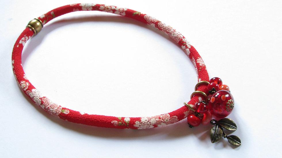 Collier Japon Rouge
