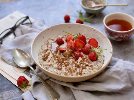 Morning porridge for the Queen