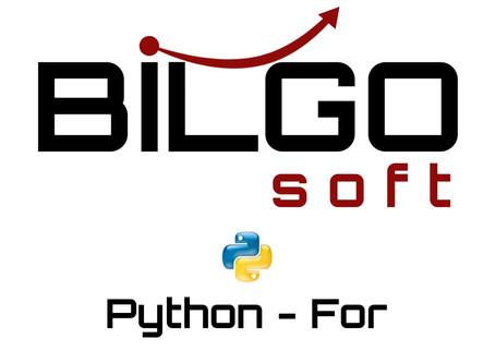 Python - For