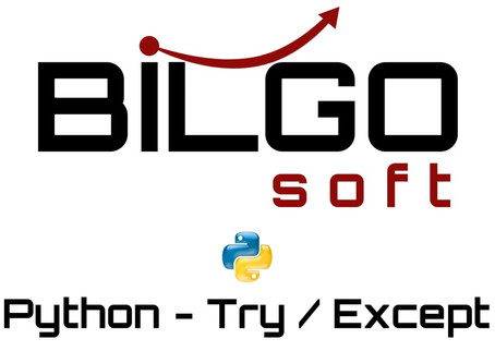 Python - Try / Except / Else / Finally