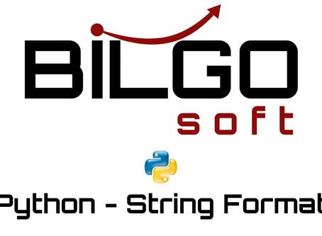 Python - String Format