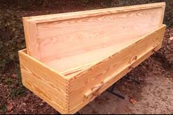 Southern Yellow Pine casket
