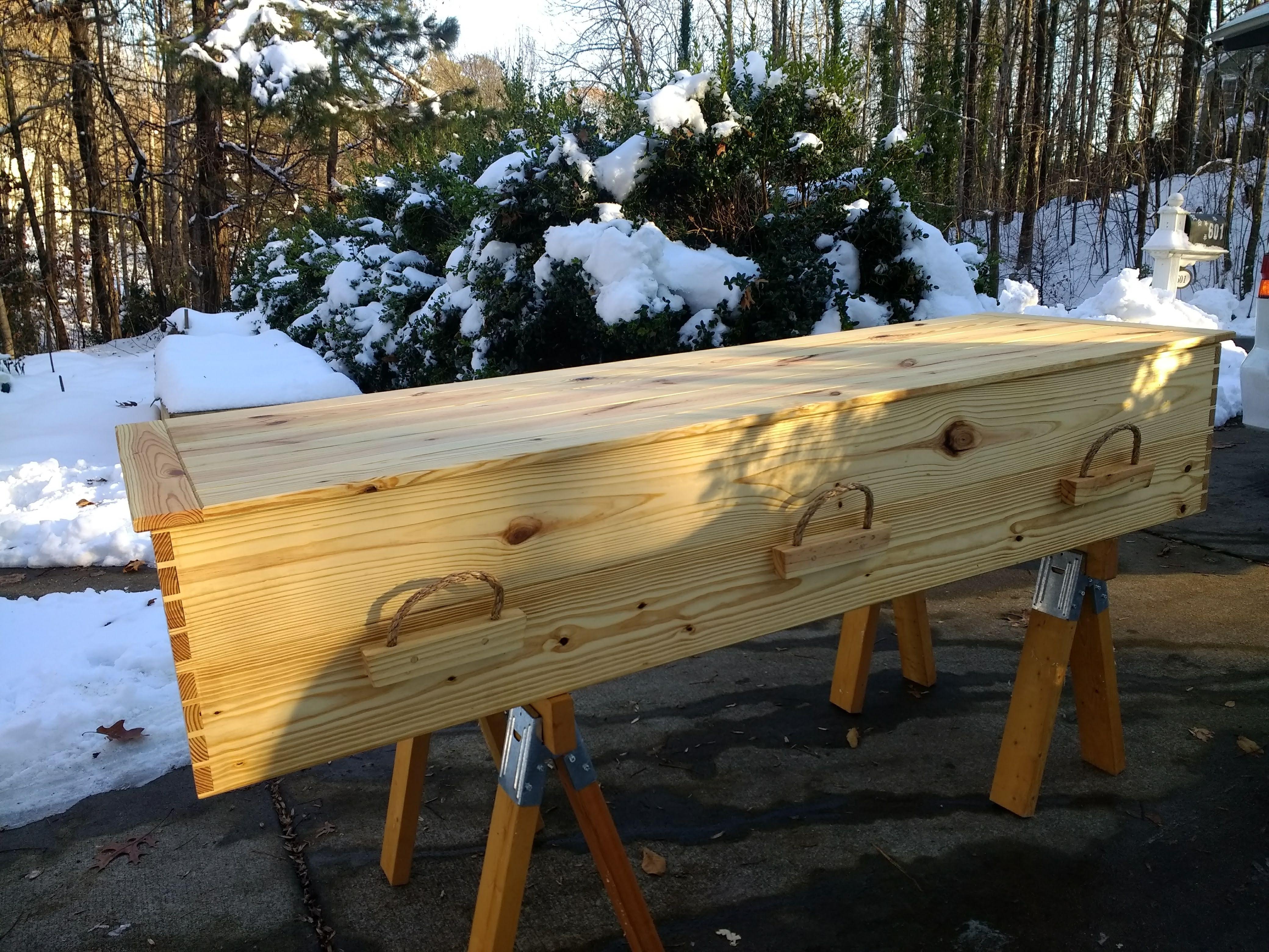 Eno River casket