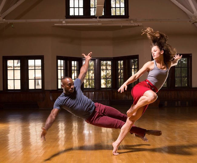National_Center_for_Choreography_-_The_Seldoms_-_Damon_D._Green_and_Cara_Sabin_at_Pulaski_Park_in_Ch