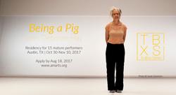 Being a Pig with Deborah Hay